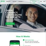 GrabShare Rides for $5 (8am - 10pm)