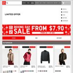 Uniqlo Boxing Day 4 Day Sale - Womens from $7.90, Mens from $4.90