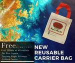 Free Reusable Carrier Bag with Purchase at Cha Tra Mue