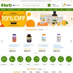 10% off at iHerb