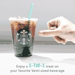 1 for 1 Offer on All Venti-Sized Drinks/Beverages at Starbucks (26th to 30th June, 3pm to 5pm)