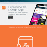 $7 off at Lazada via App ($15 Minimum Spend, New Customers)