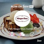 10% Cashback at Häagen-Dazs with FavePay Payments via Fave App (previously Groupon)