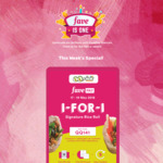 1 for 1 Signature Rice Rolls at QQ Rice with FavePay Payment via Fave App