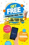 Free Gong Cha Milk Tea or Pack of Old Chang Kee Curry Puff Chips from The Straits Times (App Required) [ITE College West]