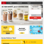 McDonald's McDelivery Nov 2019 coupon codes for free Nuggets, French Fries, Sundae & Sharing Box