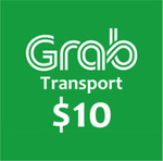 $10 GRAB transport Voucher for $8.85 via Lazada from Cheapo.Pro