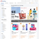Free Limited Edition Bag with $48 Min Spend on Participating Johnson & Johnson Products at FairPrice On
