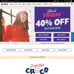 40% off Sitewide + Free Shipping at Crocs