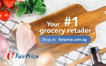FairPrice $12 off ($150 Min Spend) Voucher for $1.02 at Fave