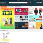 Lazada - $11 off (Minimum $60 Spend)