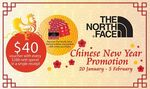 Spend $288 and Receive a Bonus $40 Voucher + Free Limited Edition Red Packets with Every Purchase at The North Face