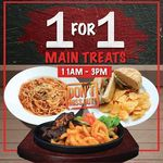 1 for 1 Main Treats at Geláre (Weekdays, 11am to 3pm, Excluding Tuesdays) [Suntec City & IMM]