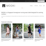 15% off (Includes Sale Items) at Mooki