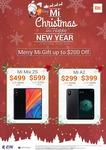 $499 64GB Xiaomi Mi Mix 2S (Was $699), $299 64GB Xiaomi A2 (Was $399) @ Xiaomi Vivocity Store