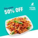 50% off at Da Paolo Gastronomia, Pastamania and PizzaExpress via Deliveroo