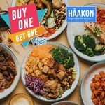 1 for 1 Salads, Brunches or Specialty Menu Items at HAAKON Superfoods & Juice (3pm to 7pm)