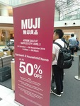 Muji Atrium Sale at Raffles City Level 3 (City Hall): Up to 60% off