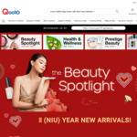 Qoo10 Chinese New Year Coupons: $10 off When You Spend $60, $18 When You Spend $120, $38 off When You Spend $300