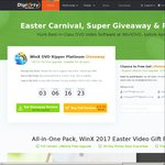 WinX DVD Ripper Platinum Easter Giveaway, free download in PC till 4/18
