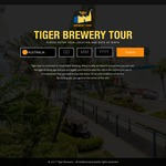 Tiger Brewery Tour (Normally $18) $10 for NS Men/Safra/Home Team ID. Includes Bottle of Beer