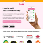 $18 off FavePay Payments via Fave (previously Groupon) [$80 Minimum Spend]