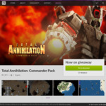 GOG: Free Total Anihilation Commander Pack (PC)