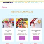 25% off Polliwogs Birthday Party Packages Booked Online