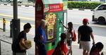 Free Packet of Golden Salted Egg Powder Chips from Continental/Knorr (Fullerton Hotel Bus Shelter)