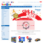 "Free Shipping at Toys""R""Us (Minimum $20 Spend)"