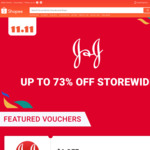 $6 off ($50 Min Spend) or $12 off ($80 Min Spend) at Johnson & Johnson via Shopee