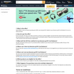 Bonus $15 Gift Card When You Spend $80 at Amazon SG (HSBC Cards)