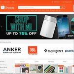 $5 off Items in 'Mobile & Gadgets' Category at Shopee (Minimum Spend $15)