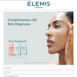 Free 10 Piece ELEMIS Sample Kit from ELEMIS (Pickup from ION Orchard or Raffles City)