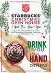 Starbucks - FREE Tall Sized Christmas Drink with Optional Donation to Salvation Army (Thursday 1 December, 5-7pm)