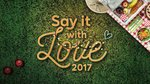 $10 Discount for Say IT with Love Picnic Bag at Gardens by The Bay ($50)