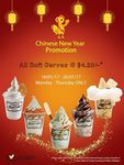 All Soft Serves for $4.20 at HoneyCreme (Mondays to Thursdays)