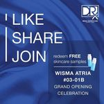 Free Skincare Samples from DRx (Wisma Atria) [Facebook Required]