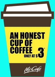 Purchase 5 McCafé Beverages, Get 1 Free with McDonald's McCafé Devotee App