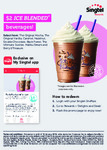 Ice Blended Beverage for $2 at The Coffee Bean & Tea Leaf for Singtel Customers