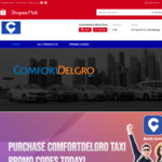 15% off ComfortDelGro Promo Codes at ComfortDelGro via Shopee