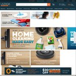 10% off Home Cleaning Products at Lazada