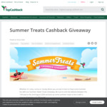 Win Cash Prizes Instantly (£0.10 to £100) + £1,000 Prize Draw from TopCashBack UK