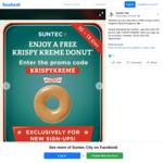 Free Krispy Kreme Original Glaze Doughnut with Suntec+ App Download (New Members)
