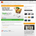 $2 off When You Spend over $50 + Tap and Go with MasterCard/Paypass at NTUC FairPrice (in-Store)
