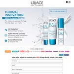 Free Water Serum (3mL) Sample Delivered from Uriage Eau Thermale