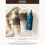 Free 3 Piece Sample Kit and Professional Hair/Scalp Consultation from Aveda (Takashimaya)