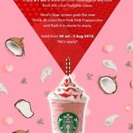 $1 off Shiok-ah-ccino Beverages or Food from the Local Delights Menu at Starbucks