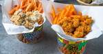 1 for 1 Super Mega Fries & Popcorn Chicken Combo at $4.30 (U.P. $5.70) at Potato Corner via Klook