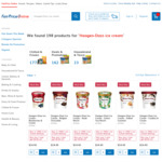 2 Häagen-Dazs Ice Cream/Sorbet Assorted 457mL-500mL Tubs for $19.90 (Save $9) FairPrice
